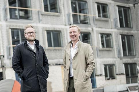 Grundlægger Carsten Rasmussen og Admin. direktør Tommy Hahn Sørensen