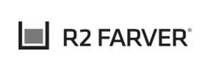 Malerfirmaets R2Farvers logo