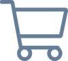 Indkøbsvogn ikon