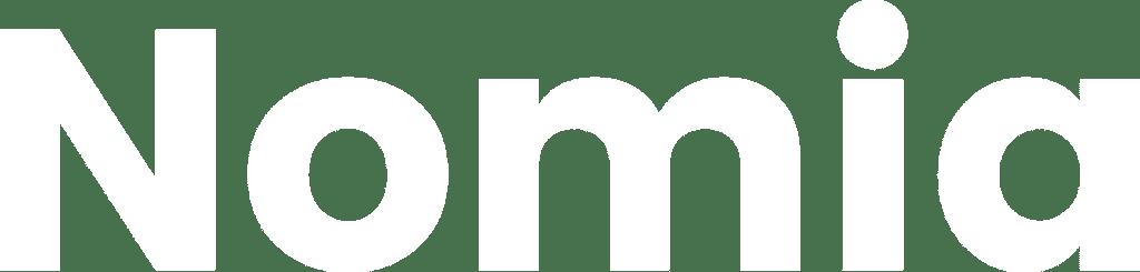 Hvidt nomia logo