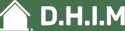 Hvidt D.H.I.M. logo