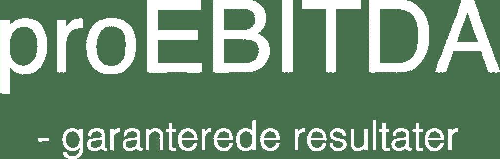 Hvidt proEBITDA logo