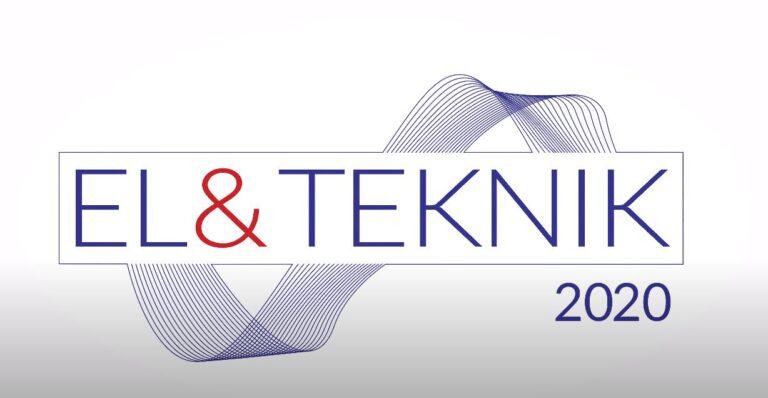 El & Teknik 2020 banner