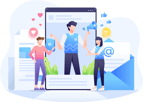 graphic social media and connection