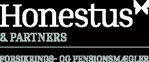 honestus logo hvid