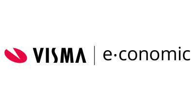visma economic logo white background