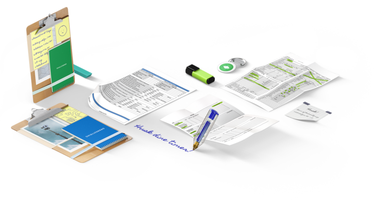 papir organisations grafik