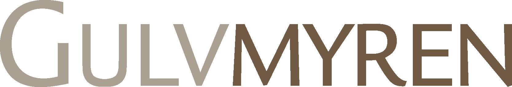 Logo af firmaet Gulvmyren, som bruger Ordrestyring