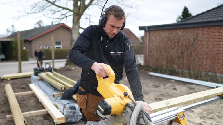ordrestyrings kunde mads Mads stadsgaard arbejder som tømrer og taler om at digitalisere sit arbejde og fordelene