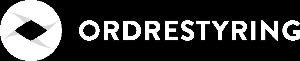 ordrestyring logo all white