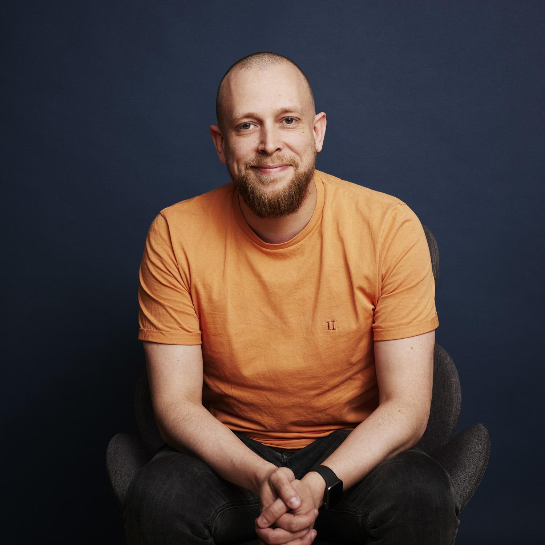 Jesper Hansen der er Support hos Ordrestyring