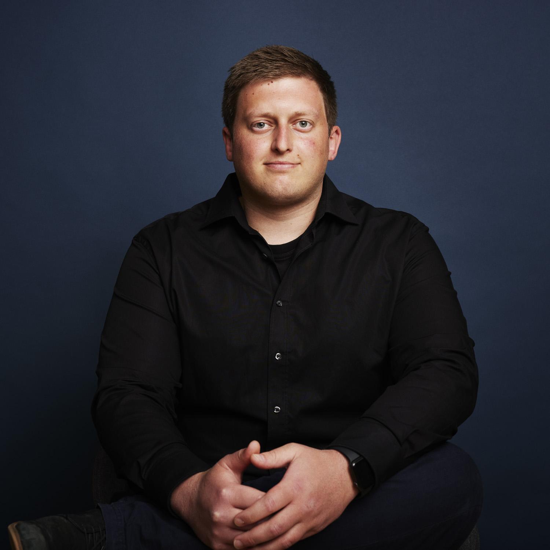 Mathias Riis Sørensen der er Customer Support hos Ordrestyring