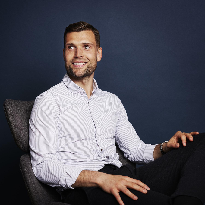 Tobias Thomsen der er Account Manager hos Ordrestyring