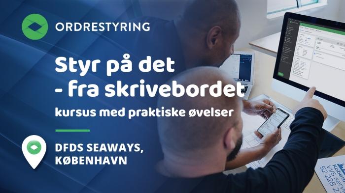 Styr på det – fra Skrivebordet - kun til eksisterende brugere - København / DFDS Seaways