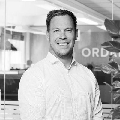Portrætbillede af Ordretsyrings salgschef Kenneth Stenild Nielsen