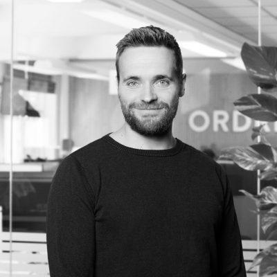 Christian Nielsen der er udvikler hos Ordrestyring