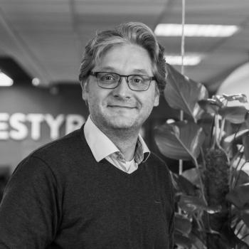 Henrik Ohlin der er svensk supporter i Ordrestyring