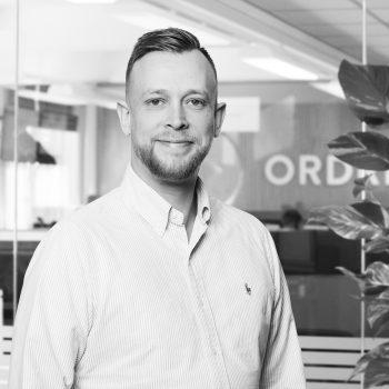 Jesper Hansen der er supporter i Ordrestyring
