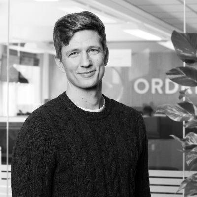 Johannes Hansen der er udvikler hos Ordrestyring